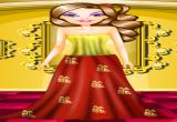 لعبة باربي الفتاة الذهبية