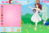 لعبة تلبيس باربي العروسة والعريس  2014