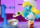 لعبة سنفورة الطباخة